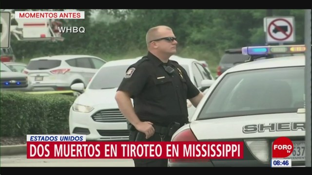 Tiroteo en Mississippi deja dos muertos