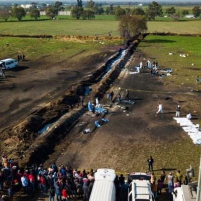 FOTO Tragedia en Tlahuelilpan, Hidalgo, por explosión de ducto de Pemex (Agencia, archivo)