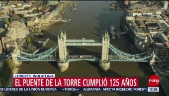 Torre de Londres cumple 125 años