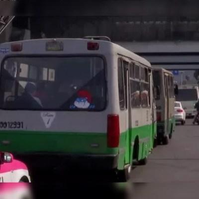 Semovi tendrá padrón de choferes de transporte público para mejorar la seguridad