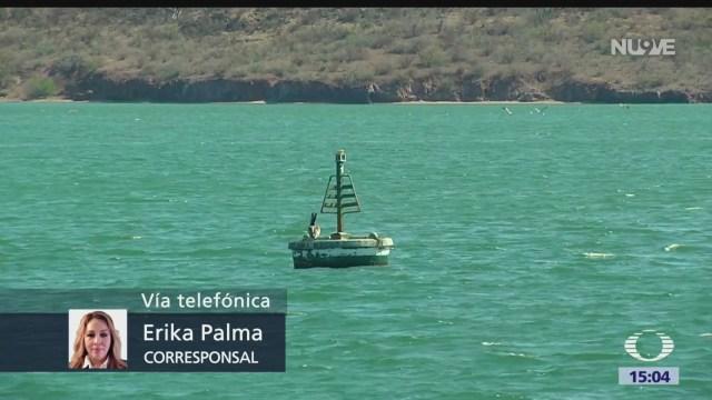 FOTO: Tras derrame de ácido, Profepa analiza posibles daños en el Mar de Cortés