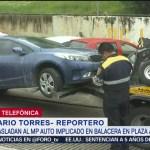 Foto: Trasladan Mp Auto Implicado Balacera Artz 26 Julio 2019