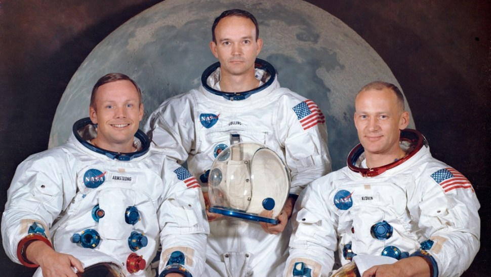 Foto: La tripulación del Apolo 11, 30 de marzo de 1969, Florida, Estados Unidos