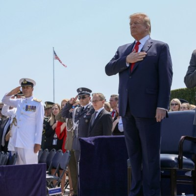 Trump agradece a México despliegue de tropas en fronteras