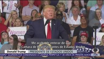 Trump se salva de primer intento por llevarlo a juicio político