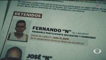 Foto: Detenidos Asesinato Estudiante Norberto Ronquillo 18 Julio 2019