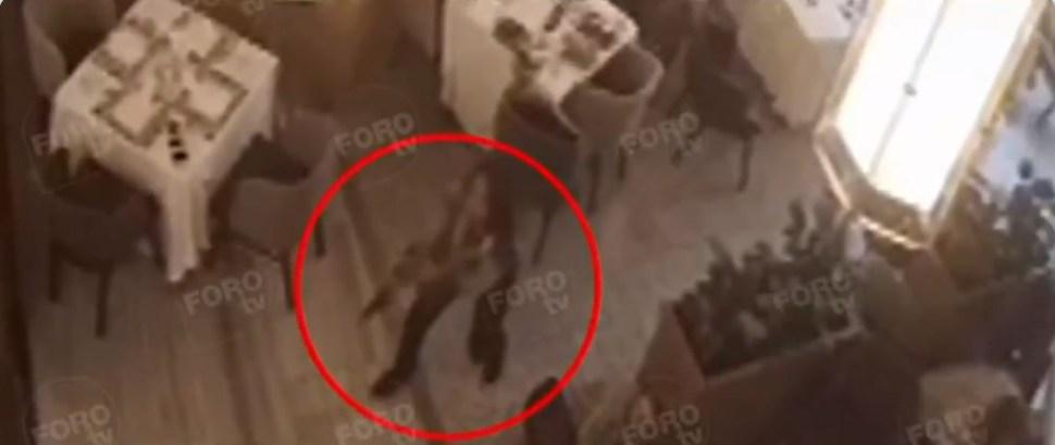 Foto Así fue el ataque dentro de restaurante en Plaza Artz Pedregal 26 julio 2019