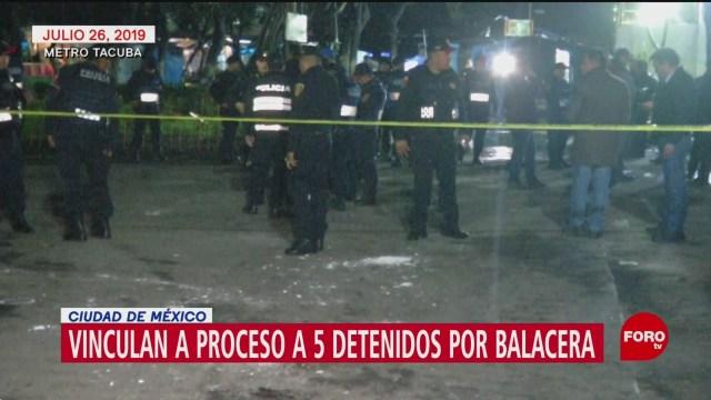 Foto: Vinculan proceso implicados balacera Metro Tacuba