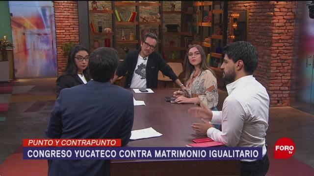 Foto: Yucatán Rechaza Segunda Vez Matrimonio Igualitario 16 Julio 2019