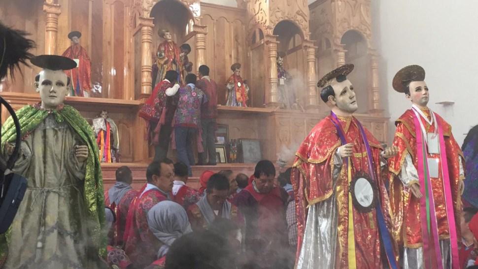 Foto: El Templo de San Lorenzo Mártir data de la época colonial, 1 de agosto de 2019 (Juan Álvarez)