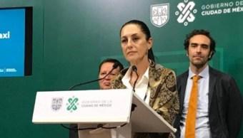 Foto La jefa de gobierno insiste en la estrategia contra la delincuencia, 22 de agosto de 2019 (Gobierno CDMX)