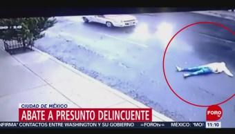Abaten a presunto ladrón en el Peñón de los Baños, CDMX