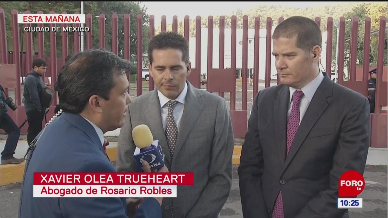 Abogados de Rosario Robles buscarán revertir prisión preventiva