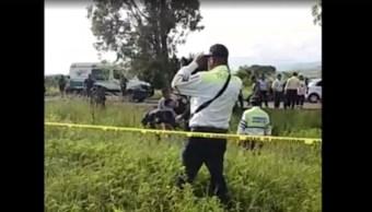 Accidente deja cinco muertos y seis heridos en Morelos