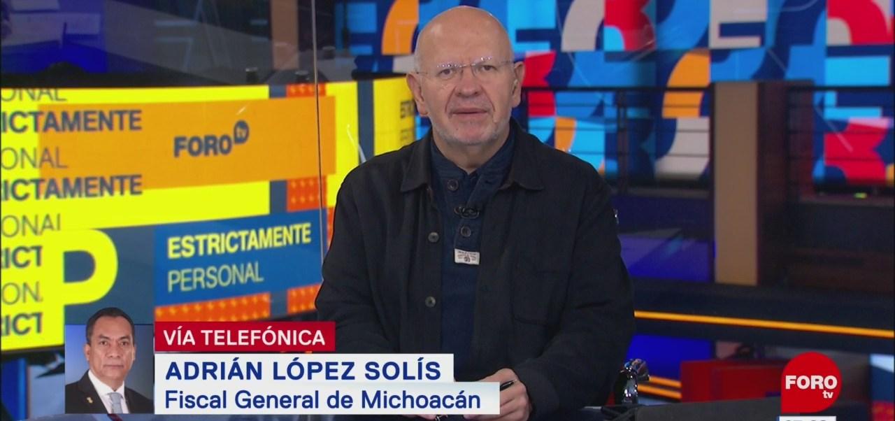 Adrián López: Trabajamos para identificar a los responsables del asesinato de 19 personas en Uruapan