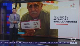 Adultos mayores denuncian que no han recibido tarjeta del gobierno
