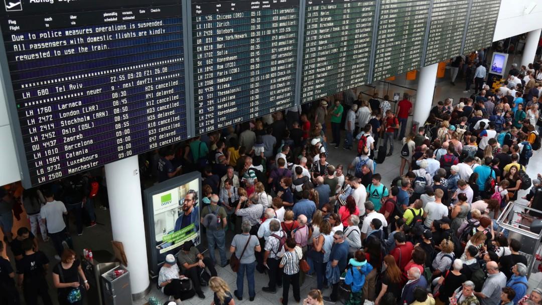 Foto: Retrasos en vuelos de Múnich, 27 de agosto de 2019, Alemania