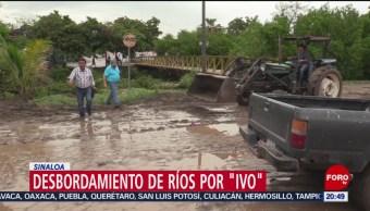 Foto: Afectaciones Por Desbordamiento Ríos Por Ivo Sinaloa