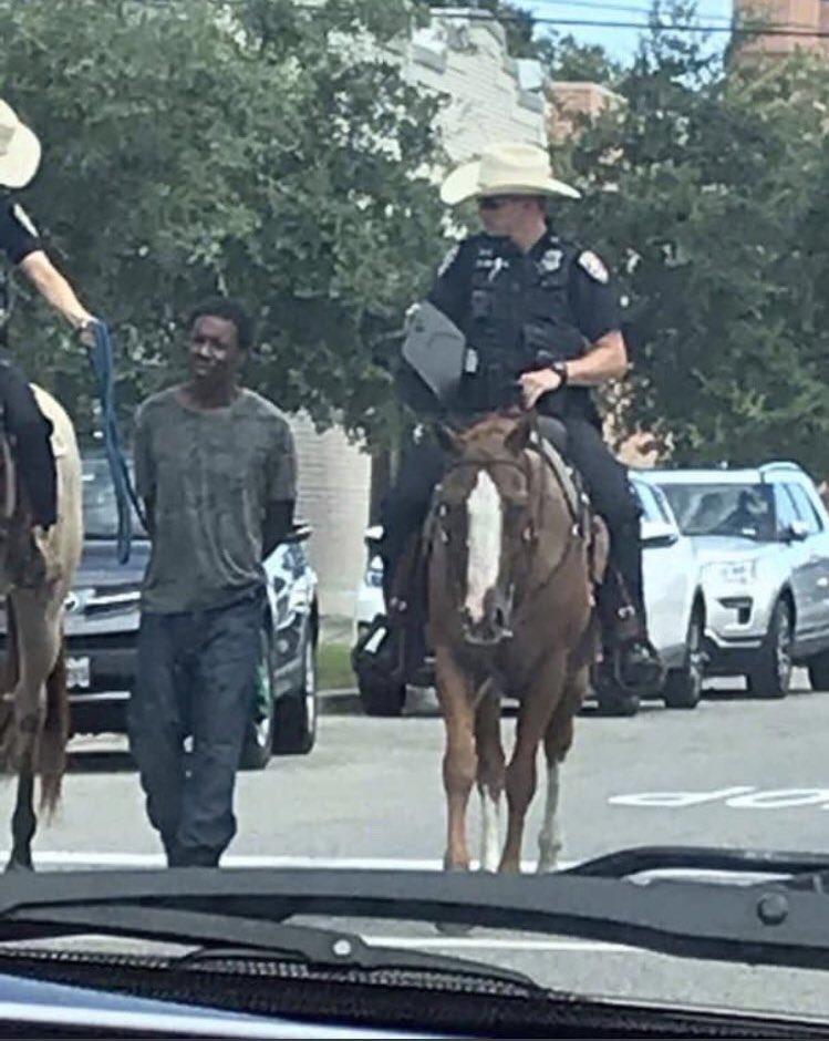 afroamericano detenido en texas 1