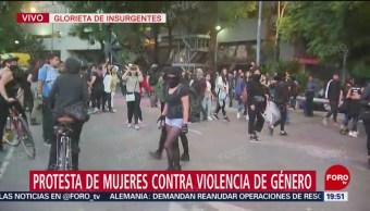 Foto: Agreden Periodistas Protesta Contra Mujeres 16 Agosto 2019