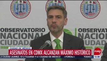 FOTO: Alcaldía Venustiano Carranza Primer Lugar Homicidio Doloso CDMX