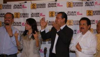 FOTO Renuncian al PRD Alejandra Barrales y Juan Zepeda (Twitter: @Ale_BarralesM)