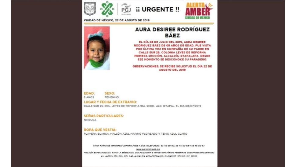 Foto: Aura Desiree Rodríguez Báez, 22 de agosto de 2019, Ciudad de México