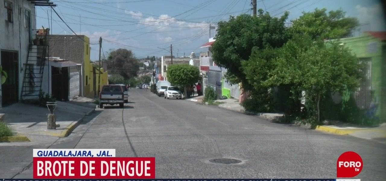 Foto: Alerta Brote Dengue Guadalajara 29 Agosto 2019