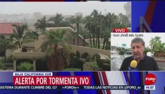 Foto: Alerta Tormenta Ivo Baja California Sur 23 Agosto 2019