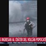 Foto: Video Alpinistas Ingresan Cráter Volcán Popocatépetl 13 Agosto 2019