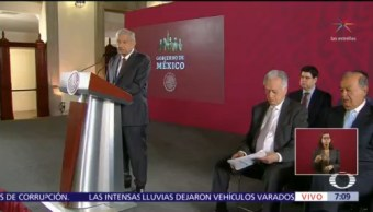 AMLO anuncia acuerdo sobre gasoductos de CFE