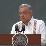 El presidente López Obrador en conferencia matutina desde Villahermosa, Tabascoo, 23 agosto 2019