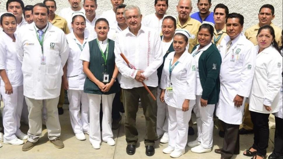 Foto: AMLO tuvo actividades este domingo en Miahuatlán, Oaxaca, el 18 de agosto de 2019 (Gobierno de México)