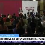 AMLO pedirá que FGR atraiga el caso de ataque en Coatzacoalcos