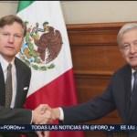 Foto: Amlo Recibe Nuevo Embajador Estados Unidos 26 Agosto 2019