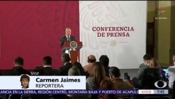 AMLO refrenda que México va bien