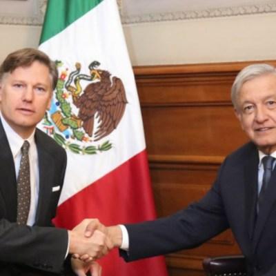 AMLO recibe a embajadores de EU, Israel, Ecuador y Rep. Checa