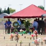 Foto: En El Paso se oficiaba una misa de réquiem por Javier Amir Rodríguez, 10 de agosto de 2019 (AP)