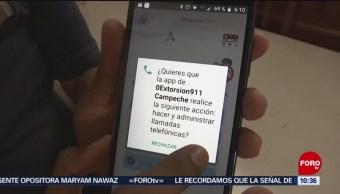 FOTO: Aplicación móvil para prevenir llamadas de extorsión en Campeche, 11 Agosto 2019