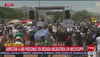 Foto: Arrestan 680 Personas Redada Migratoria Estados Unidos
