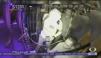 Asaltan con machete transporte público en Guadalajara