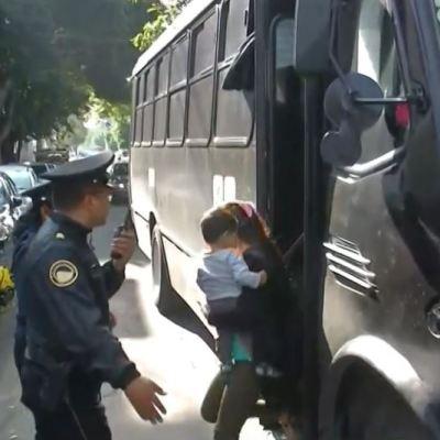 Aseguran a 19 migrantes en un hotel en la Ciudad de México