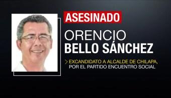 Asesinan a excandidato a alcalde de Chilapa, Guerrero