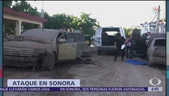 Asesinan a seis hombres en Sonora