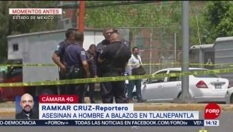 FOTO: Asesinan hombre Tlalnepantla Edomex