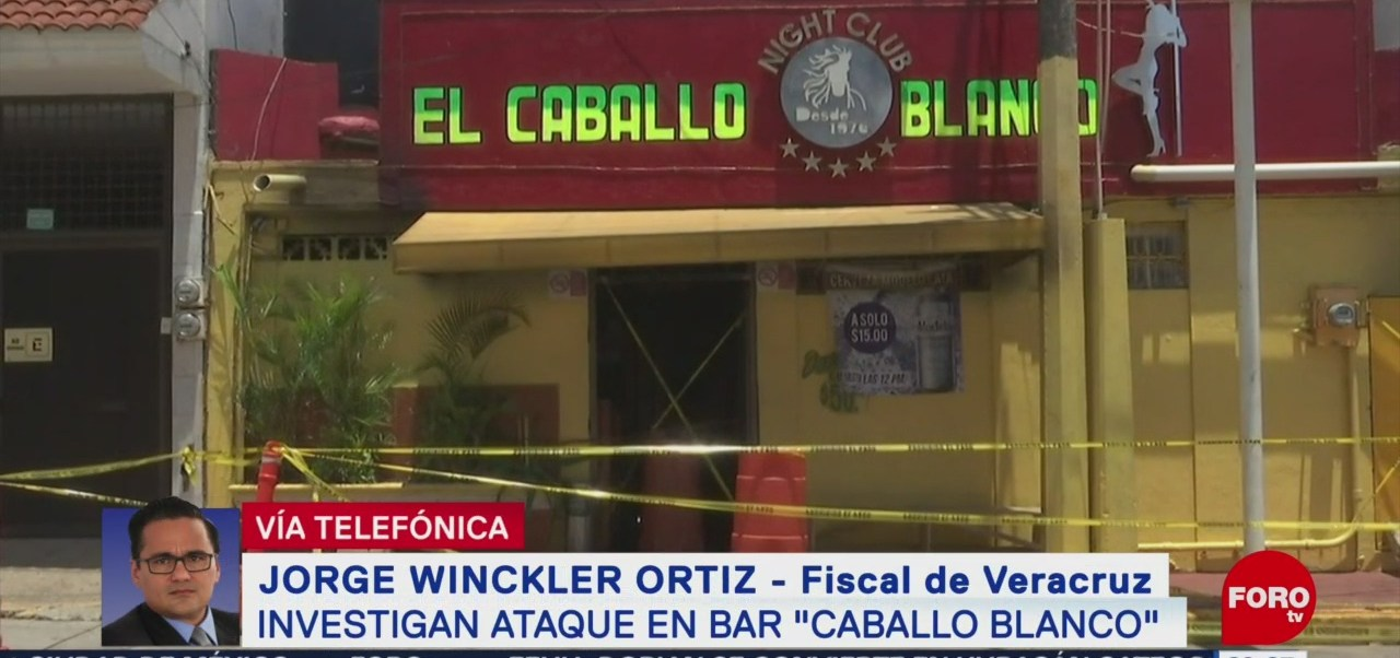Foto: Ataque Bar Coatzacoalcos Acto Terrorismo Winckler 28 Agosto 2019