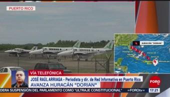 FOTO: Avanza Huracán Dorian por Puerto Rico