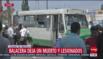 Balacera deja un muerto y dos lesionados en Iztapalapa, CDMX