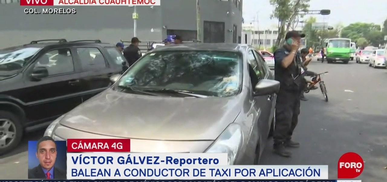 Foto: Balean Conductor Taxi Aplicación Cuauhtémoc Cdmx 23 Agosto 2019