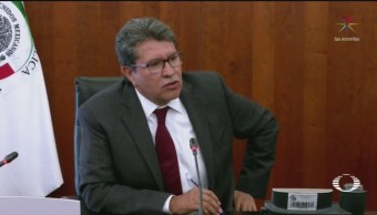 Foto: Batres Monreal Pleito Interno Morena Senado 20 Agosto 2019